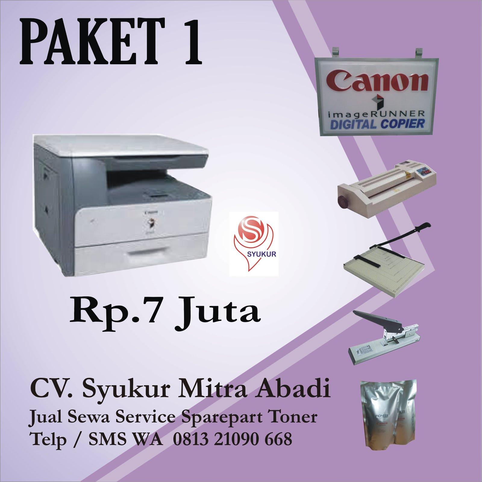 Paket mesin fotocopy murah