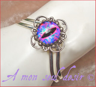 bague bracelet yeux oeil dragon reptile serpent bijou cyclope zombie dragons le trône de fer game of thrones jewels