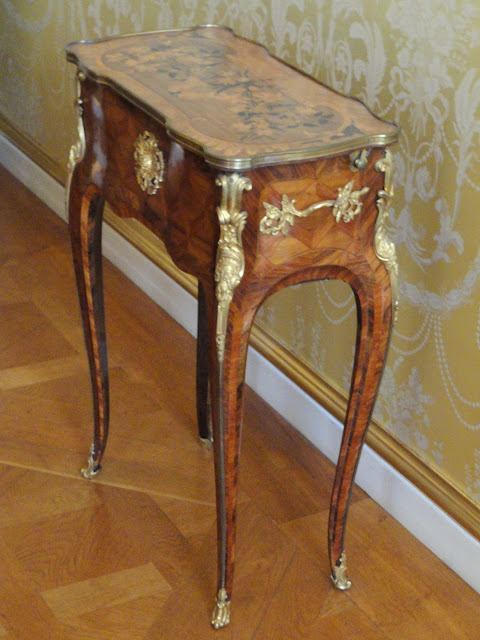 Jean-François Oeben, c. 1755. Furniture exhibited in the Münchner Residenz, Munich, Germany