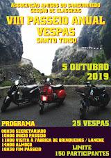 VIII Passeio Anual de Vespa A.A.S Clássicos - 5 OUTUBRO 2019