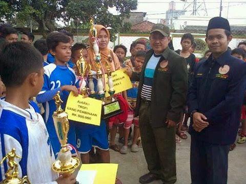 SDN Bojongsari 04 Raih Juara Umum Turnamen Amec