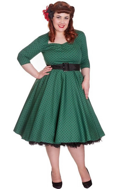 http://www.myvintage.co.uk/womens-vintage-style/hell-bunny-retro-green-polka-dot-momo-dress.html