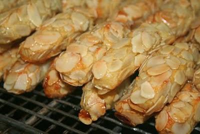جديد حلويات اللوز المغربية : حلوة أصابع اللوز بنكهة البرتقال