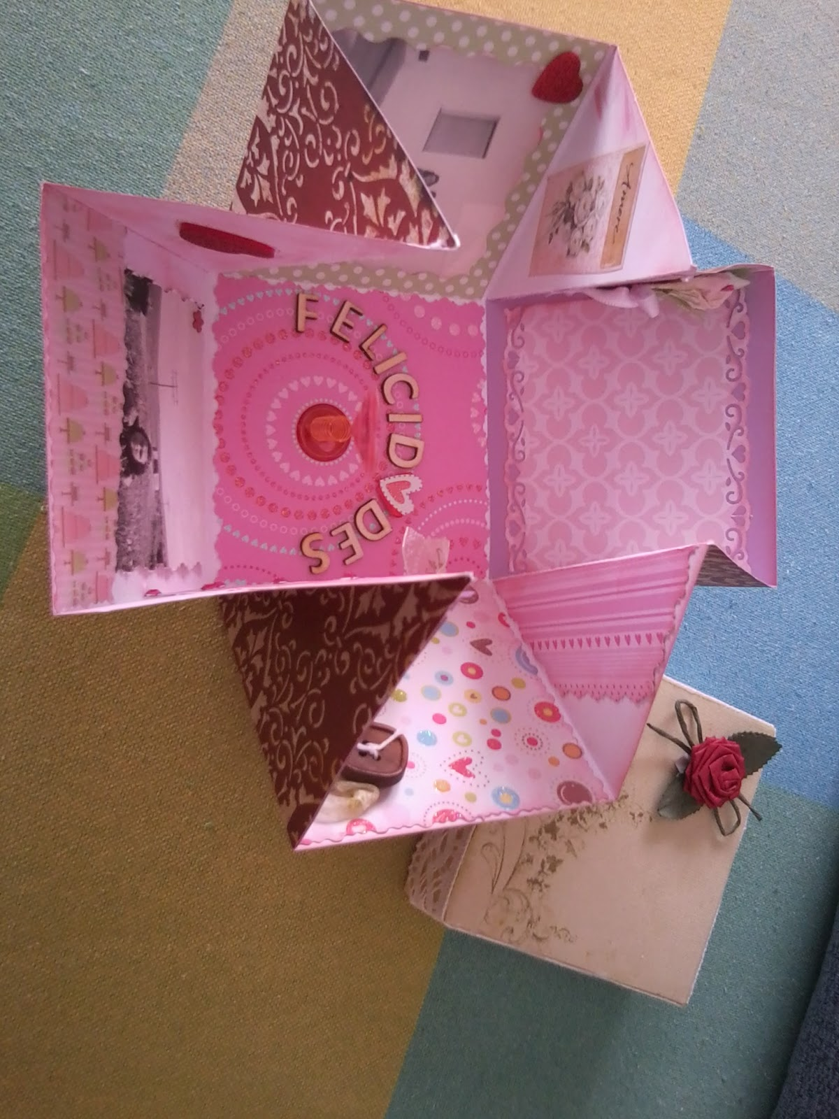 Mis scrap creaciones caja sorpresa para aniversario for Sorpresas para aniversario