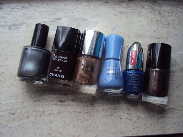 HERFSTEDITIE | Mijn favoriete nagellakjes.