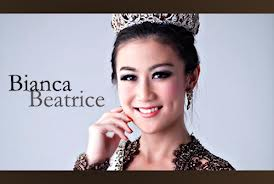 Bianca Beatrice - Miss Coffe Indonesia