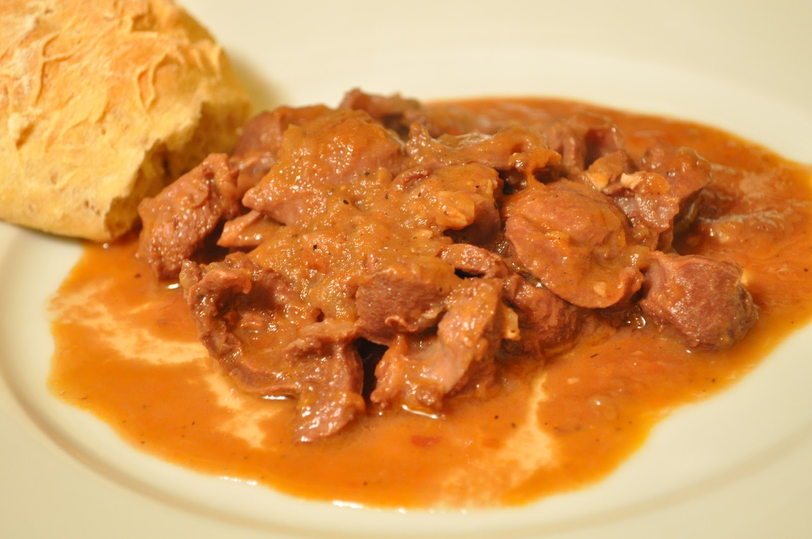 Chicken stomach: a recipe for cooking goulash with a side dish 63