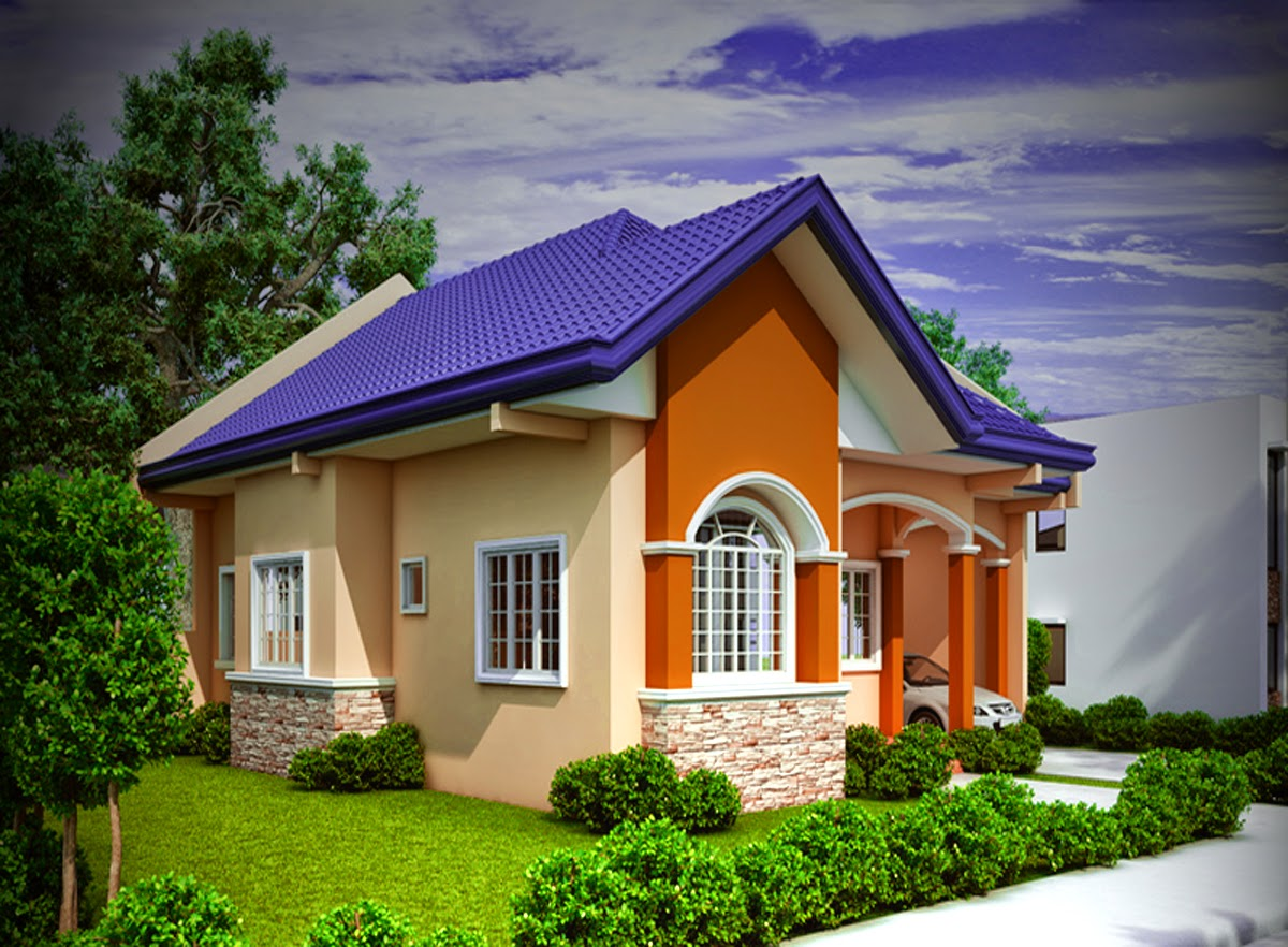 contoh gambar desain rumah minimalis 1 lantai dengan 3 kamar tidur