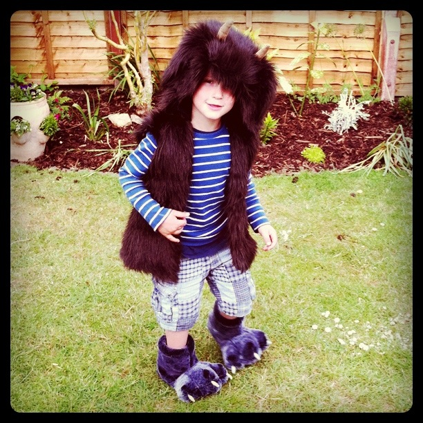 Homemade Gruffalo Costume