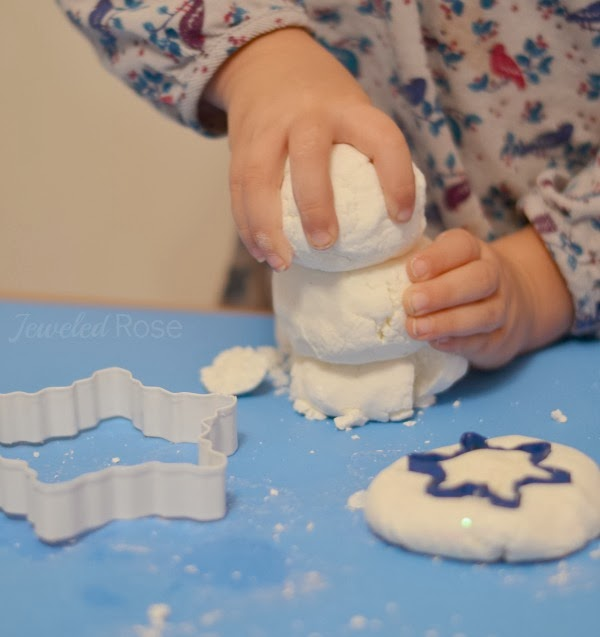 Snow Dough Recipe for play