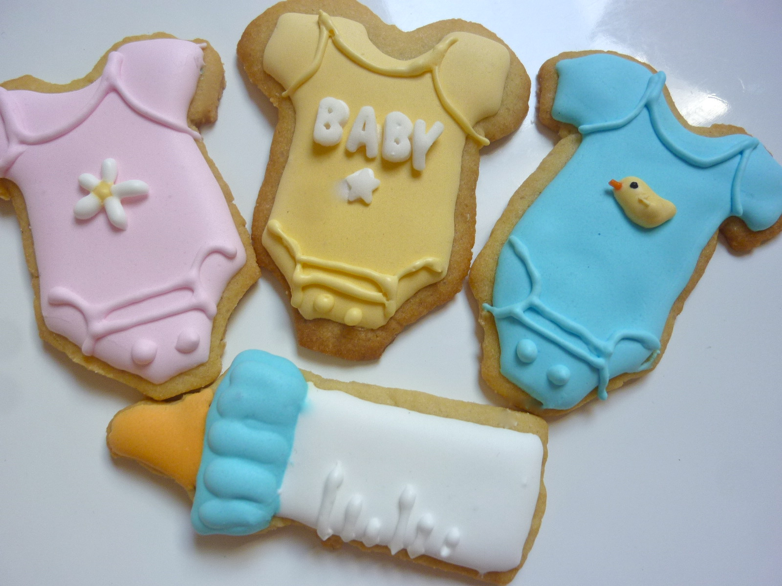 Diary of a Mad Hausfrau Baby Cookies and Cupcakes