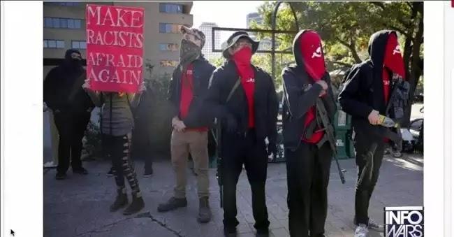 Δείτε τους κόκκινους πεμπτοφαλαγγίτες του Τζορτζ Σόρος,κομμουνιστες λεπρικα μιασματα ανάμεσα στους πολίτες, με όπλα στα χέρια!