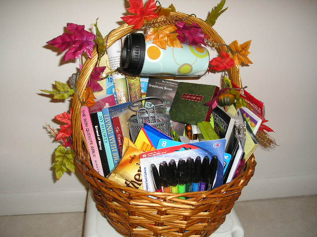 2012 Silent Auction For Florida Writers Foundation Basket