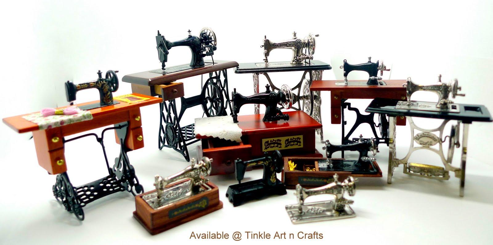 sewing machine in store