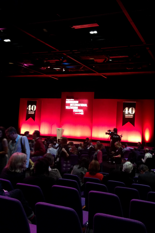 Hello Freckles Edinburgh International Television Festival 2015 MacTaggart Lecture