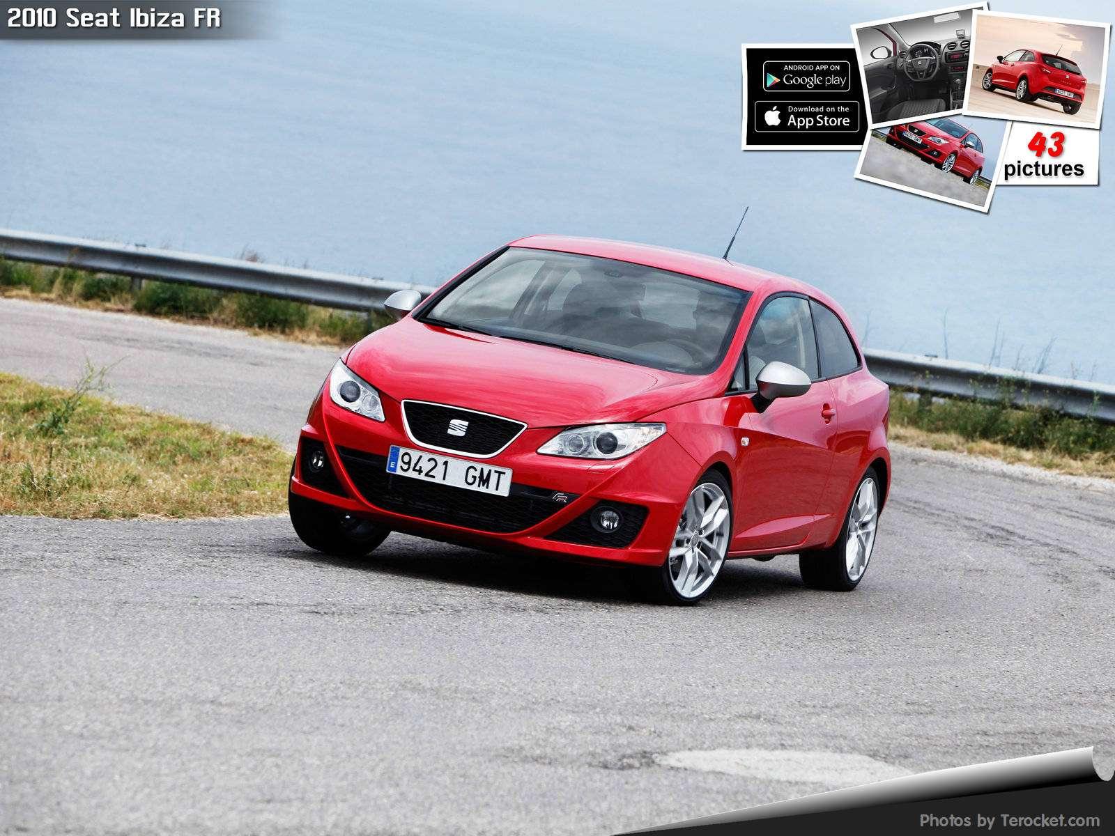 Hình ảnh xe ô tô Seat Ibiza FR 2010 & nội ngoại thất