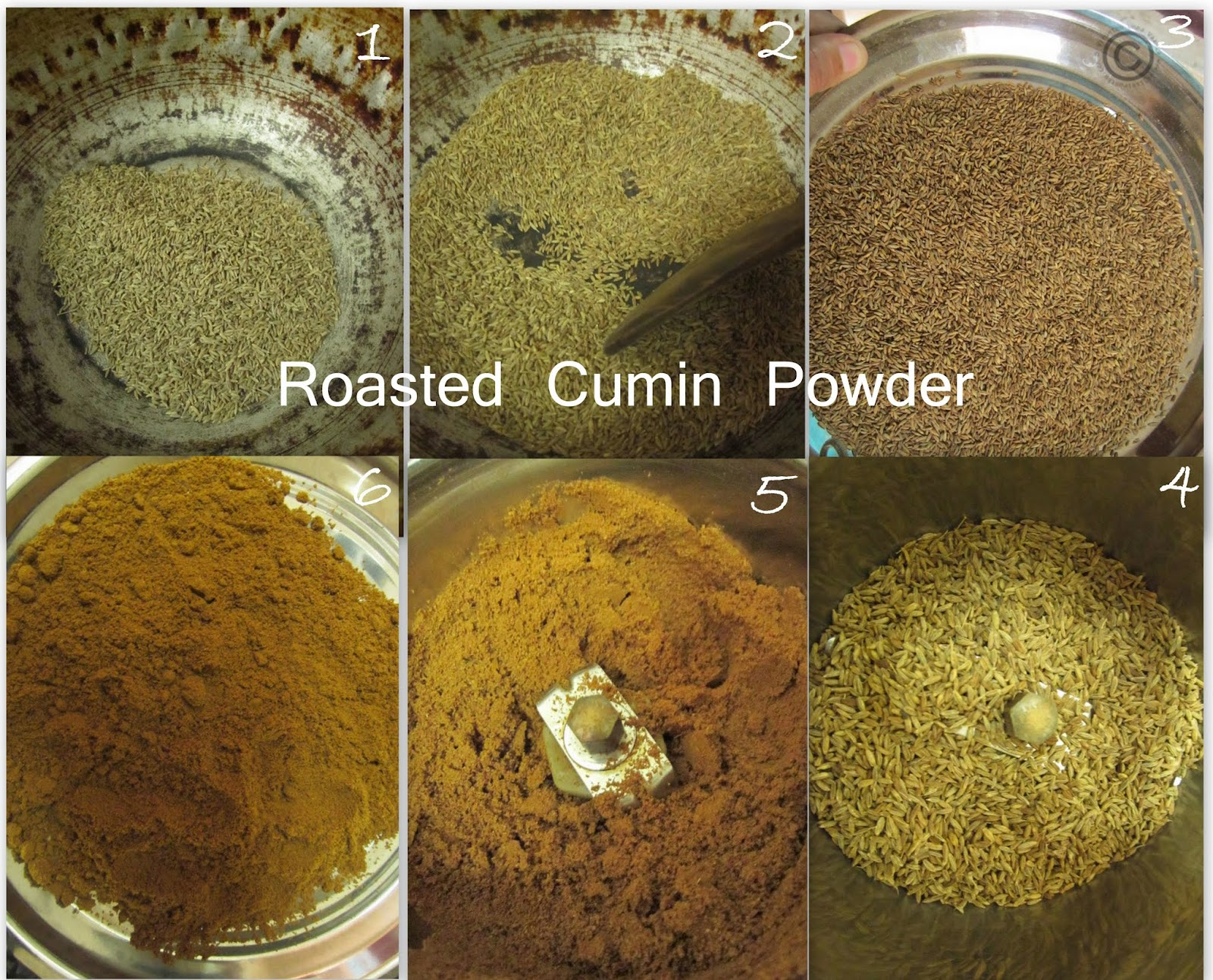 ... HOMEMADE ROASTED CUMIN POWDER I DIY -CUMIN POWDER I BASICS OF KITCHEN