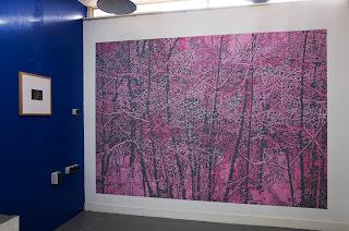Richard Müller: Peinture murale Randen rose et gris