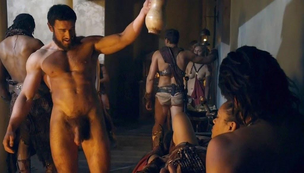 Actores de SPARTACUS Sorprenden con Enormes Penes, Técnicas-de-Masturbación