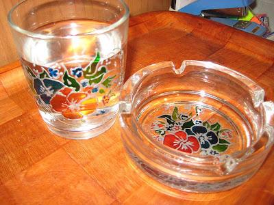 Salikanje na staklu, painting glass tutorial