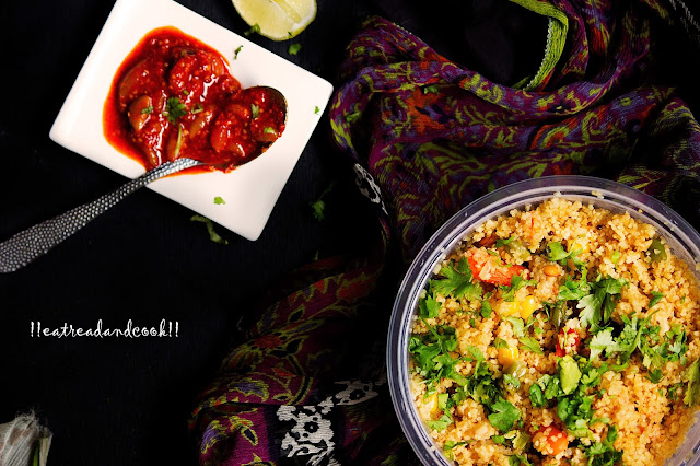 dalia upma recipe with step by step pictures