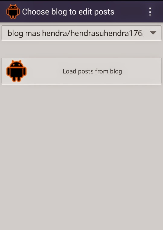 bloggeroid, update, artikel, blog, mas, hendra