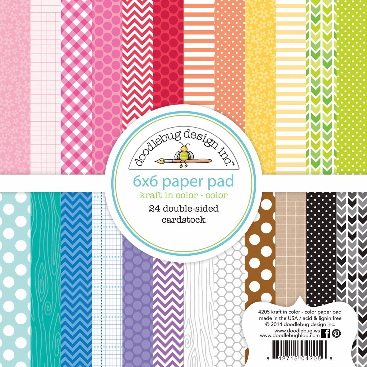 doodlebug design inc blog kraft in color collection launch party