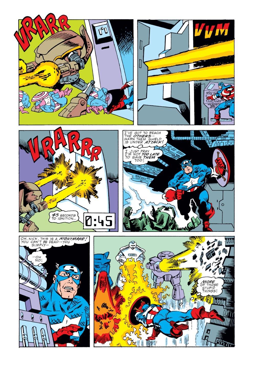 Captain America (1968) Issue #351 #283 - English 19