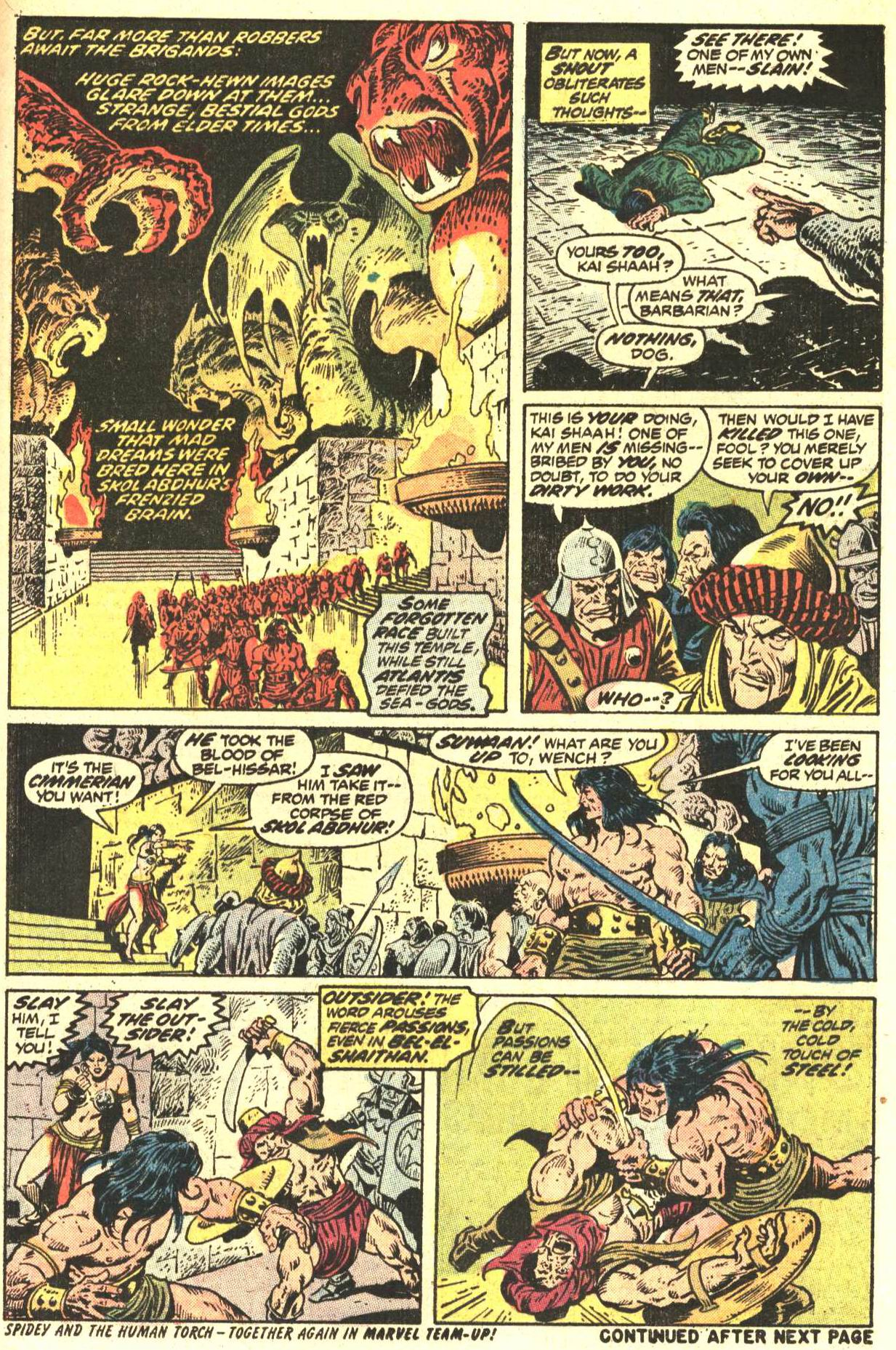 Conan the Barbarian (1970) Issue #27 #39 - English 18