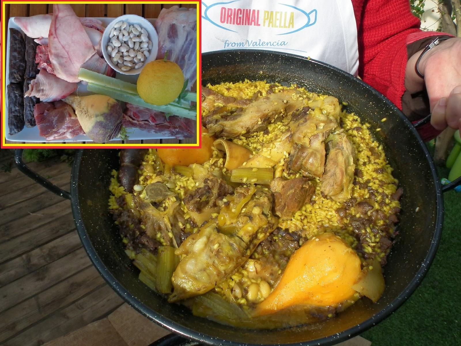 arros amb fesols i naps www.originalpaella.com