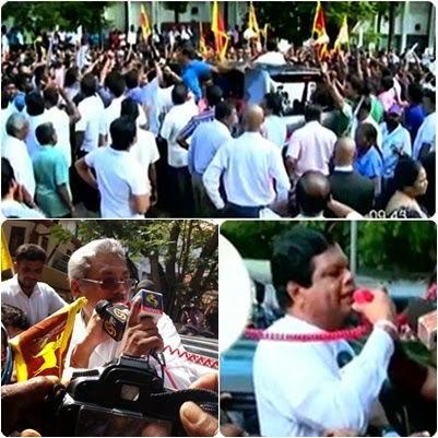 Gotabhaya is being harassed because the LTTE wants. - Bandula
