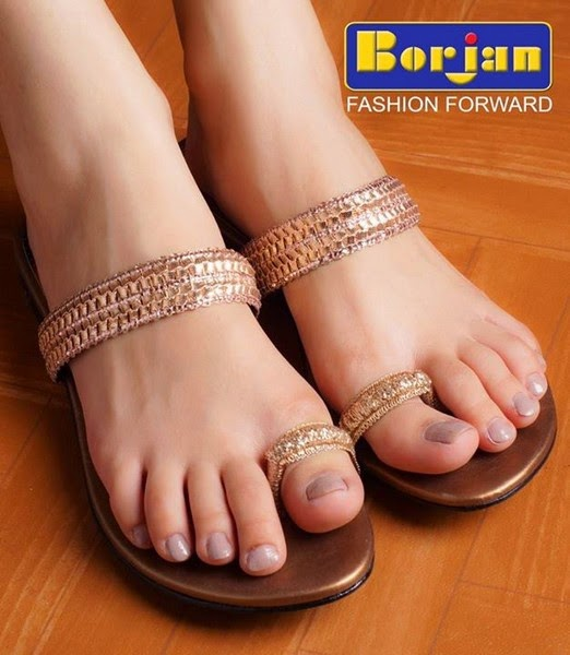 Borjan Ladies Shoes Eid Ul Azha Collection 2014