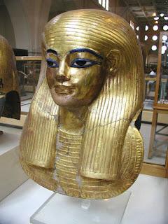 Mummy Mask of Yuya, Cairo Museum