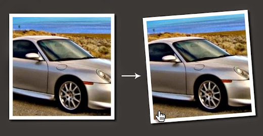 Tilt CSS image hover effect