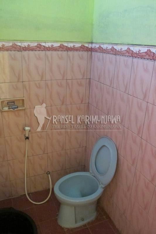 homestay pelangi toilet