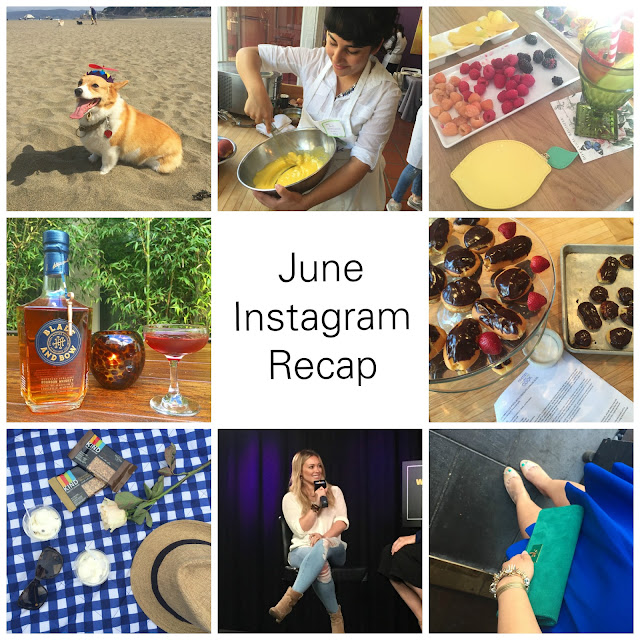 June Instagram Recap - Blogger Will Bake for Shoes