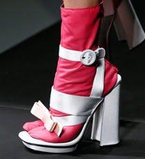 Обувки на висок ток пролет-лято 2013