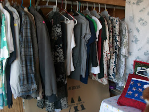 Yard sale clothing