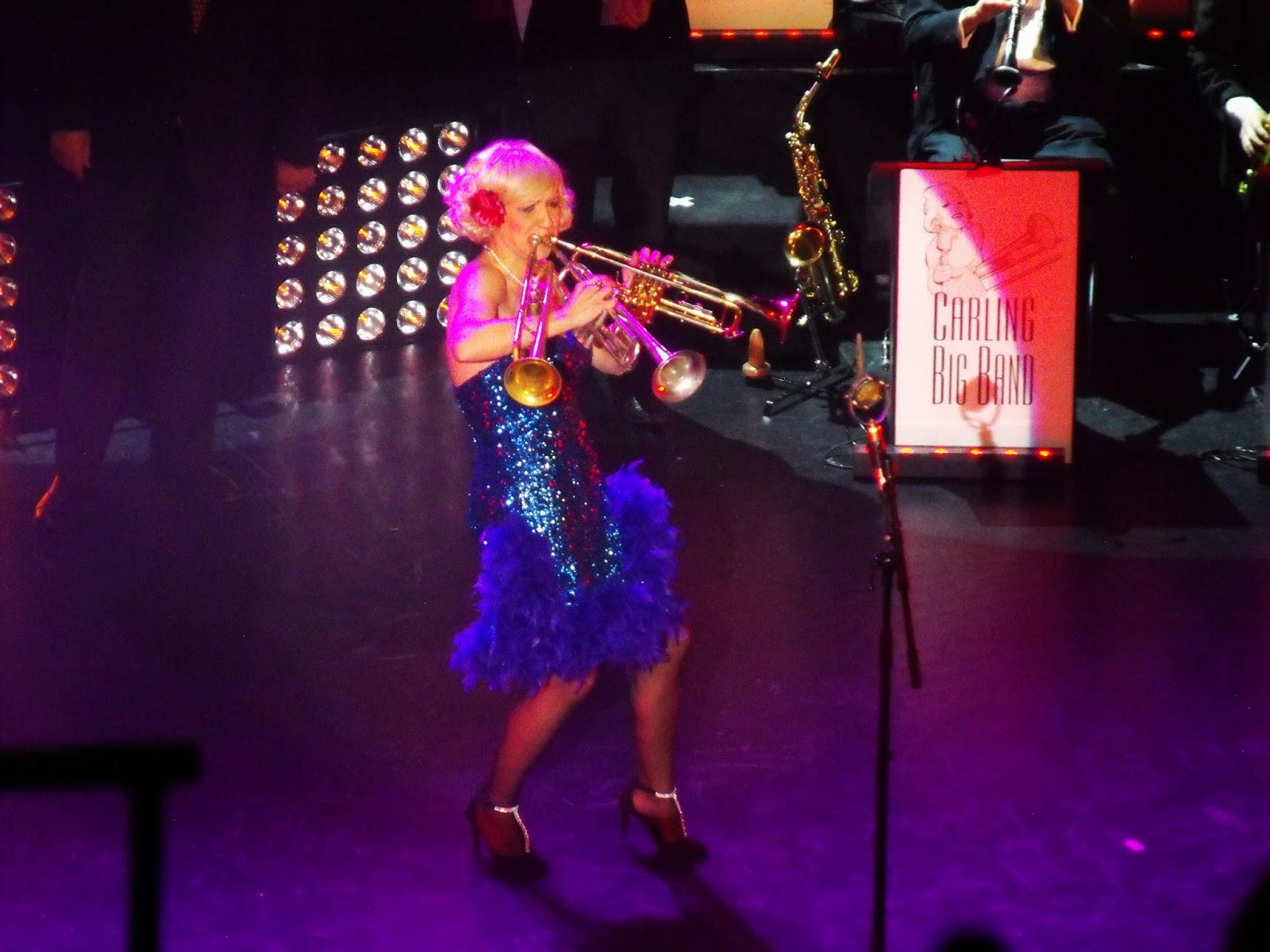 Gunhild Carling, Jazzvarité, Harlem Hot Shots, Swing, Jazz