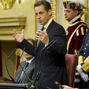 SARKOZY, Y UN BRILLANTE DISCURSO!!