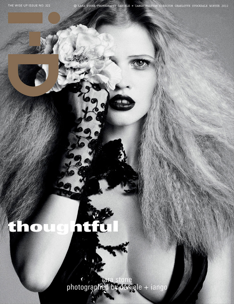 Lara Stone by Daniele Duella & Iango Henzi for i-D Winter 2012