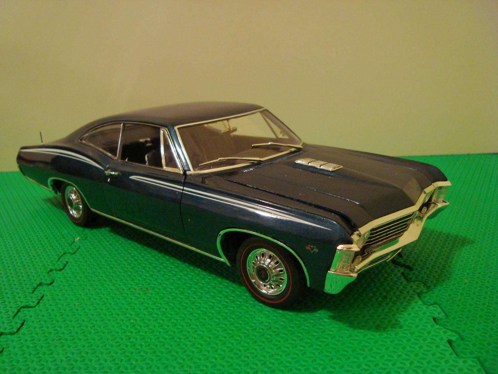 diecast american car nutz 1967 chevrolet impala ss. Black Bedroom Furniture Sets. Home Design Ideas