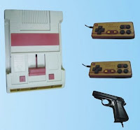 Imagen de una consola pirata barata que simula una Famicom - Mi lado Nintendo