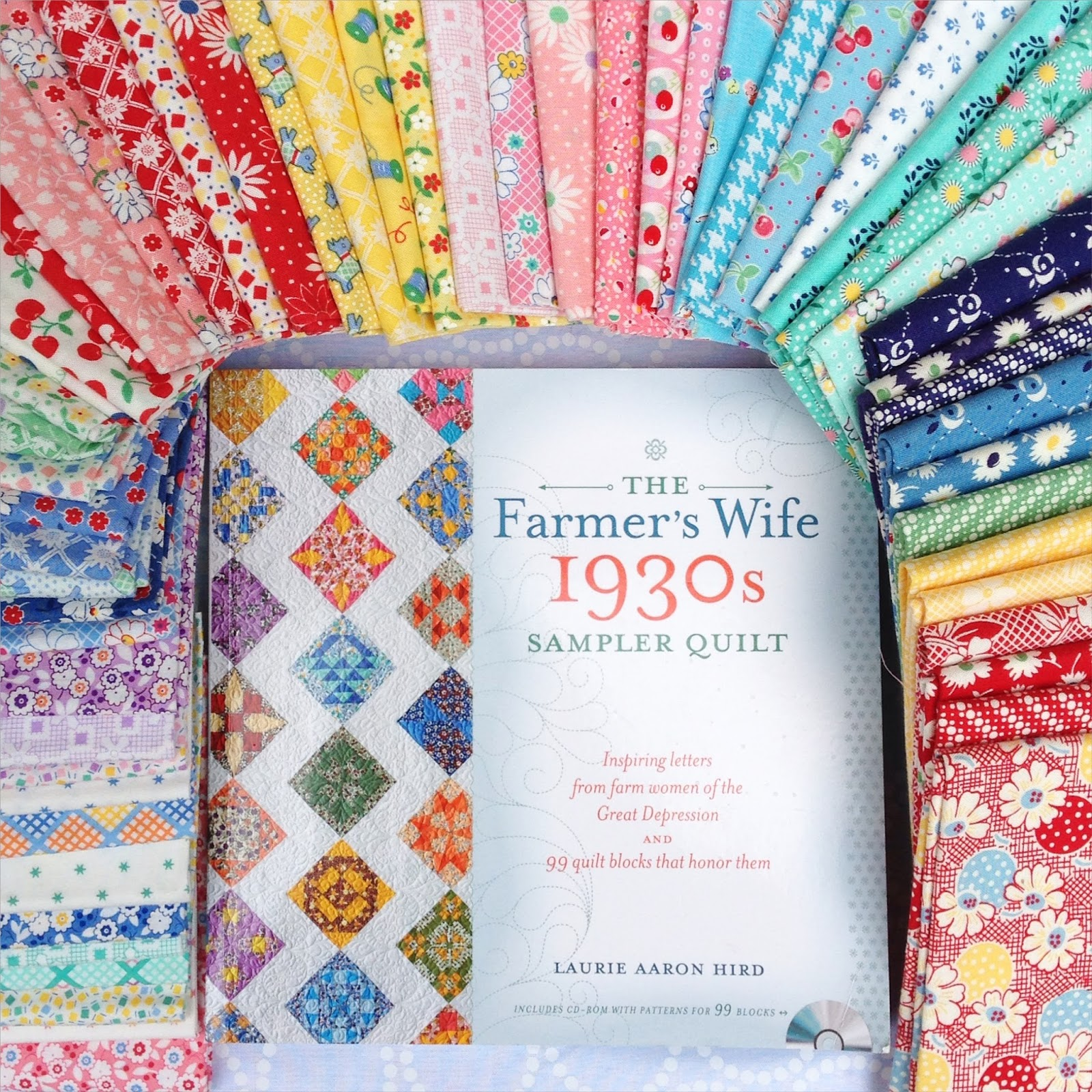 Poppy Makes Farmers Wife 1930s Quilt