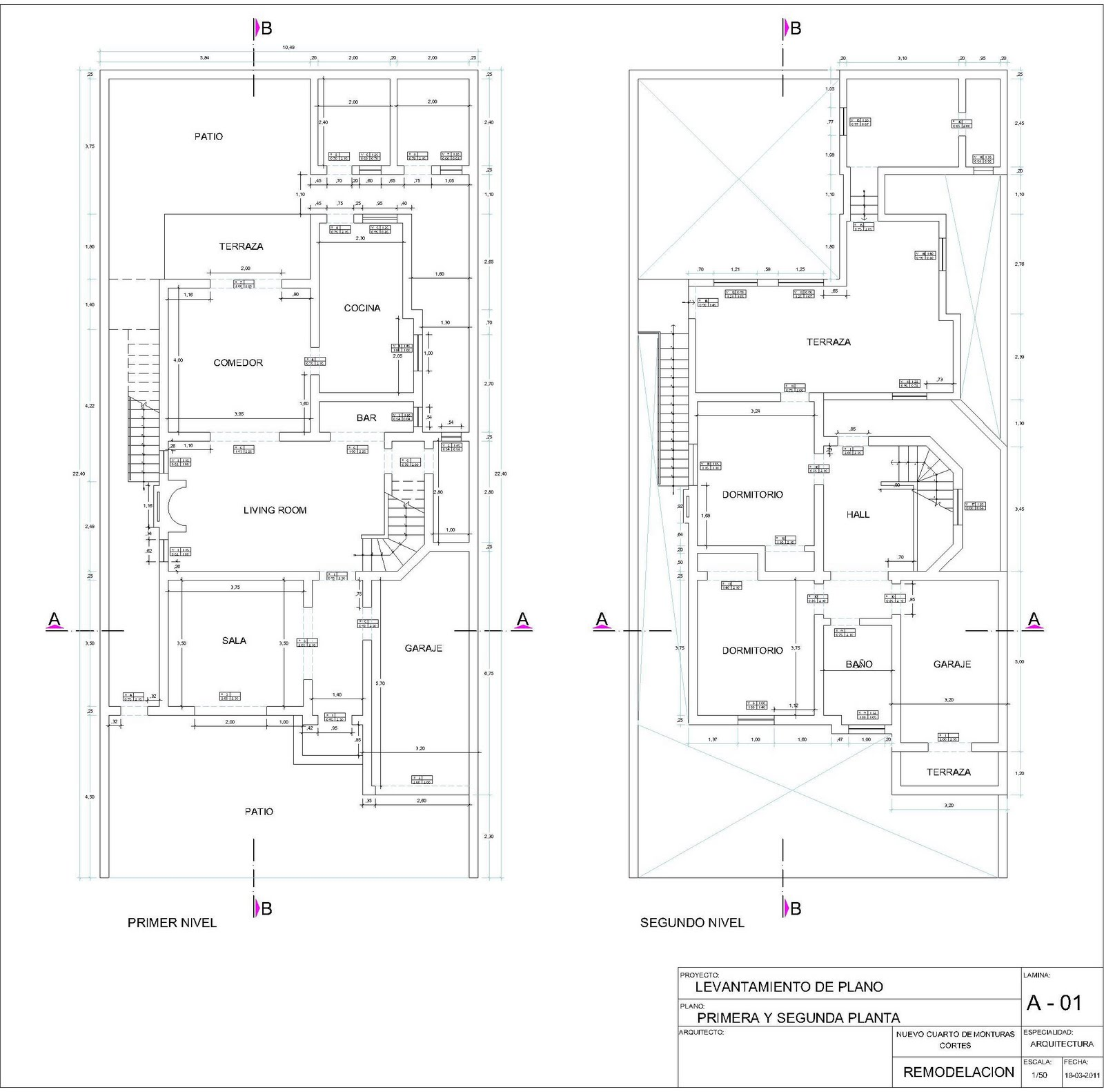 Arqsihuis remodelacion for Planos de arquitectura