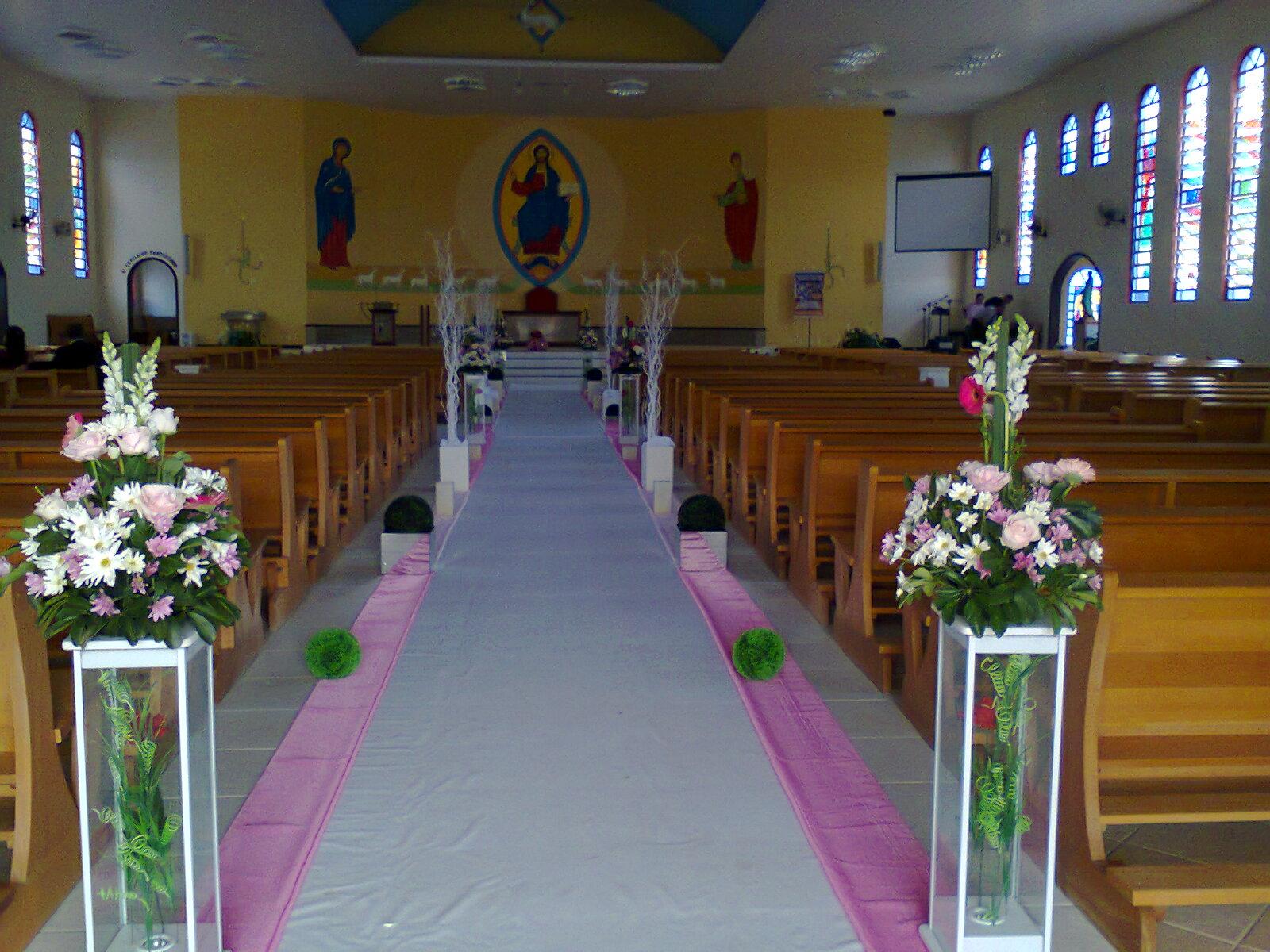 Selina decoradora de casamento: Decora??o para igreja em ...