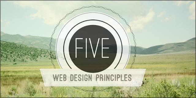 Five Principles of Visual Web Design