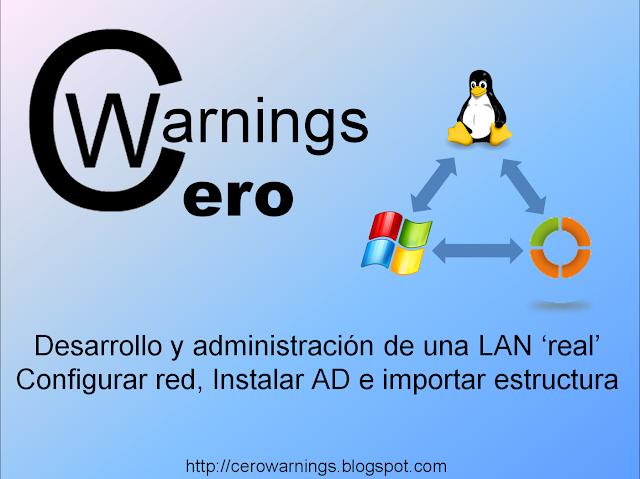 Instalación del Active Directory y configuración de red