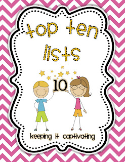 Top 10 Lists Literacy Center