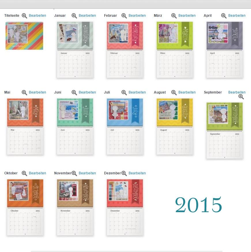 Макет календаря #aikoroom_paperdolls 2015